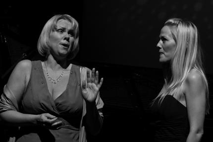 Solveig Kringlebotn og Mari Eriksmoen fremførte blant annet duett fra Figaros Bryllup av Mozart.