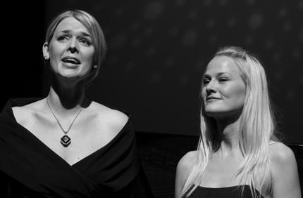 Ina Kringlebotn og Mari Eriksmoen.