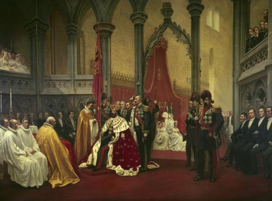 Knut Bergslien: Oscar IIs kroning i Nidaros 1873