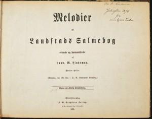 Melodier til Landstads Salmebog