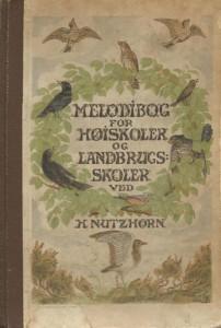 Den første melodisamlingen til Højskolesangbogen. 1904.