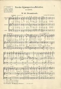 Kjæmpevise-Melodier hefte 6
