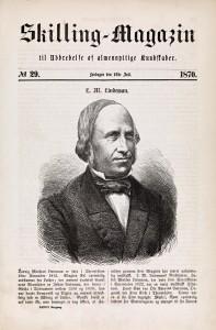 Ludvig Mathias Lindeman Sklling-Magazin 1870
