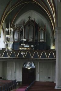 Østre Aker kirkes orgel fra 1860