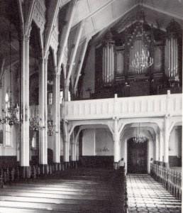 Kristiansand domkirkes orgel fra 1885