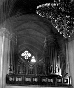 Trefoldighetskirkens orgel fra 1858