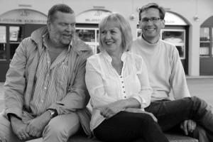 Halvor Håkanes, Eli Storbekken og Bjørn Sigurd Glorvigen i Norsk Kvedarforum